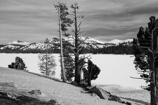 Caples Lake. Eldorado National Forest, CA, USA