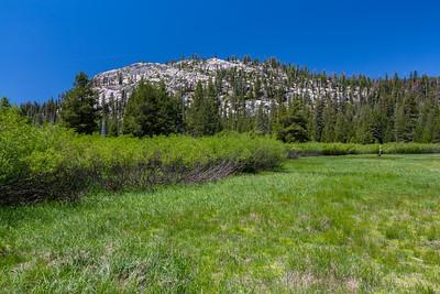 Devils Postpile Trail. Devils Postpile National Monument, CA, USA