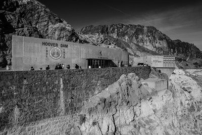 Hoover Dam. Nevada Side. Lake Mead National Recreation Area - NV, AZ