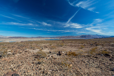 Lake Mead. Longview Overlook. Nevada Side. Lake Mead National Recreation Area - NV, AZ