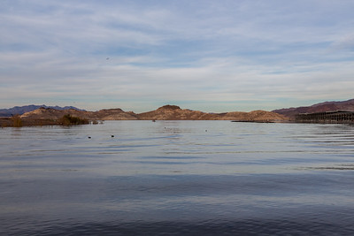 Sunset. Lake Mead. Hemenway Harbor Launch Ramp. Nevada Side. Lake Mead National Recreation Area - NV, AZ