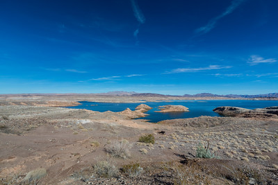 Lake Mead. Sunset View Scenic Overlook. Nevada Side. Lake Mead National Recreation Area - NV, AZ
