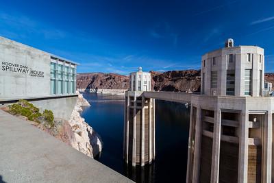 Lake Mead. Hoover Dam. Nevada Side. Lake Mead National Recreation Area - NV, AZ