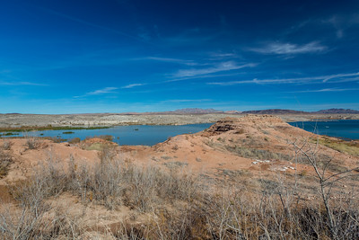Lake Mead. 33 Hole Overlook. Nevada Side. Lake Mead National Recreation Area - NV, AZ