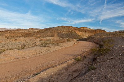 Kingman Wash Access Road. Arizona Side. Lake Mead National Recreation Area - NV, AZ