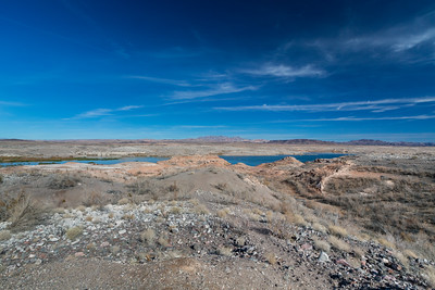 Lake Mead. 33 Hole Overlook. Nevada Side. Lake Mead National Recreation Area - NV, AZ