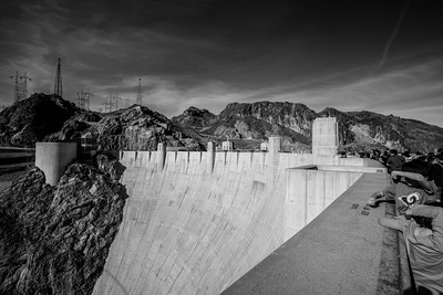 Hoover Dam. Arizona Side. Lake Mead National Recreation Area - NV, AZ
