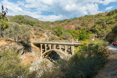 Kaweah River Bridge (1923). Mineral King Road - Three Rivers, CA, USA
