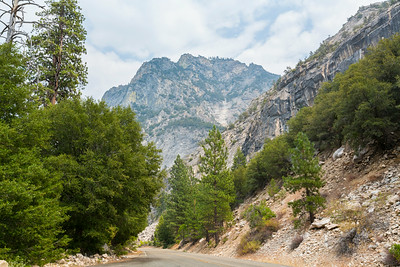 SR-180 - King's Canyon National Park, CA, USA