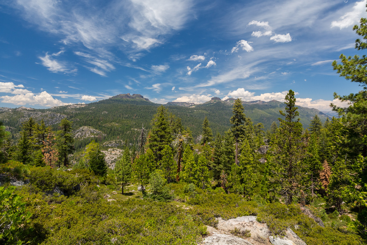 The Dardanelles. Donnell Vista. Stanislaus National Forest, CA, USA