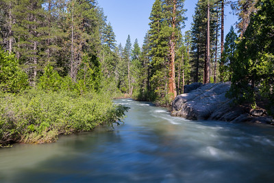 Middle Fork Stanislaus River. Near SR-108. Stanislaus National Forest, CA, USA