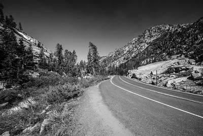 Deadman Creek & SR-108. Stanislaus National Forest, CA, USA