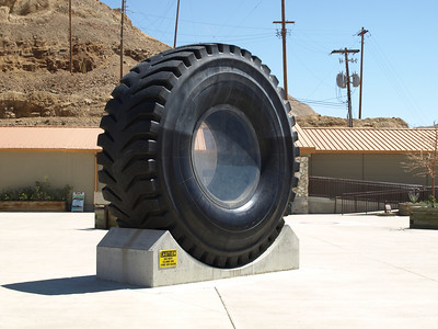 Giant Tire. Kennecott Copper Mine/Bingham Canyon Mine - Utah, USA