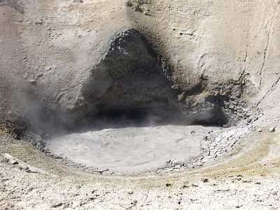Mud Volcano. Yellowstone National Park
