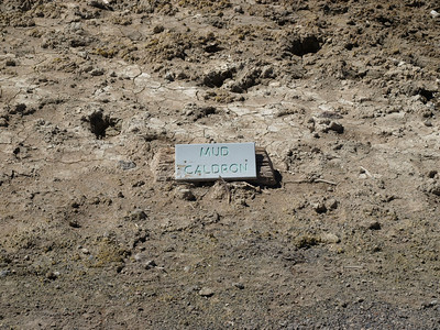 Mud Caldron. Yellowstone National Park