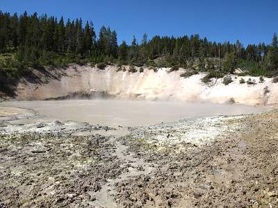 Mud Caldron. Yellowstone National Park
