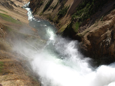 Yellowstone Fall. Yellowstone National Park