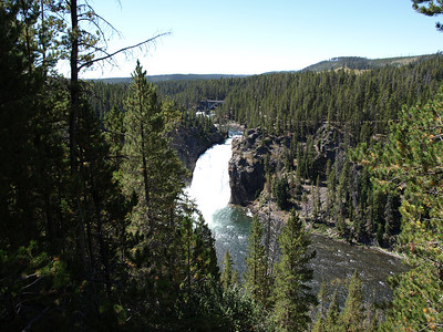 Yellowstone Fall. Grand Canyon of the Yellowstone. Yellowstone National Park