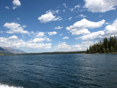 Jenny Lake. Grand Teton National Park