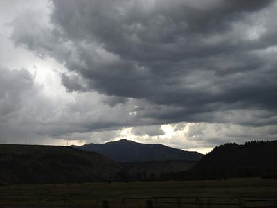 Driving toward Twin Falls, Idaho from Jackson Hole, Wyoming (on the way home)