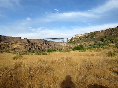 Perrine Bridge. Centennial Waterfront Park. Twin Falls, Idaho, USA