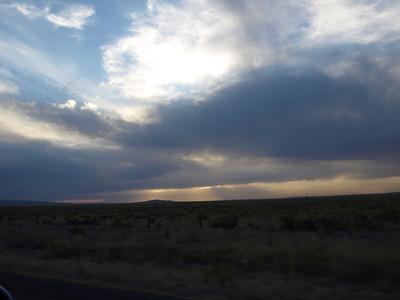 California Trail. Driving home from Twin Falls, Idaho toward SF Bay Area.