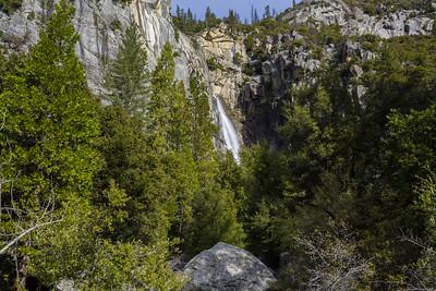 Cascade Falls. El Portal Road. Yosemite National Park, CA, USA
