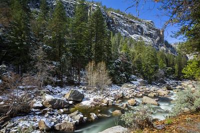 Merced River. El Portal Road. Yosemite National Park, CA, USA