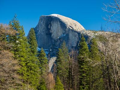 Half Dome. Sentinel Bridge. Yosemite National Park, CA, USA