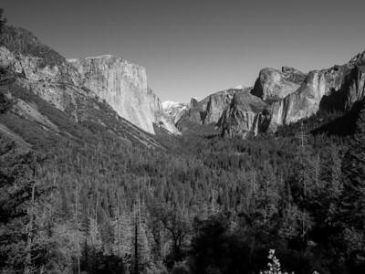 Tunnel View. Yosemite National Park, CA, USA