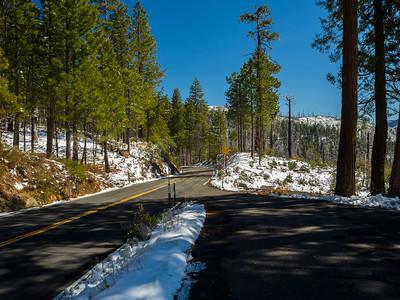 Big Oak Flat Road. Yosemite National Park, CA, USA