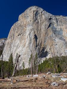 El Capitan. Northside Drive. Yosemite National Park, CA, USA