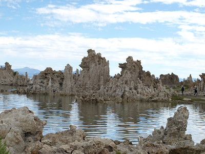 Tufas. Mono Lake, CA near Lee Vining