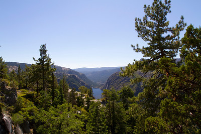Donnell Lake. Donnell Vista - Stanislaus National Forest, CA