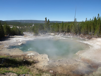 Emerald Spring. Norris Geyser Basin - Yellowstone National Park