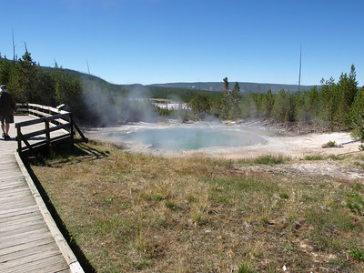 Emerald Spring. Norris Geyser Basin - Yellowstone National Park