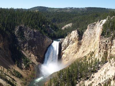 Yellowstone Fall. Yellowstone National Park