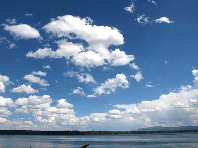 Jenny Lake. Grand Teton National Park