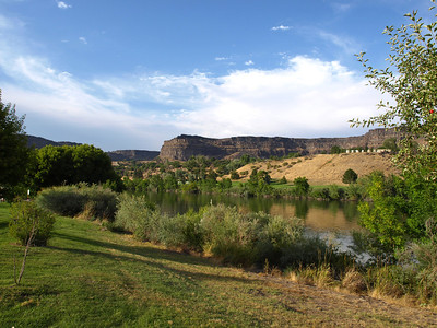 Centennial Waterfront Park. Twin Falls, Idaho, USA