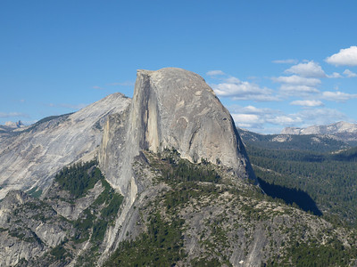 Half Dome. Glacier Point - Yosemite National Park