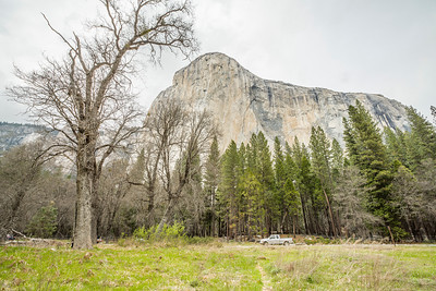 El Capitan - Northside Drive - Yosemite National Park