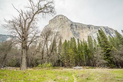 El Capitan - Northside Drive - Yosemite National Park