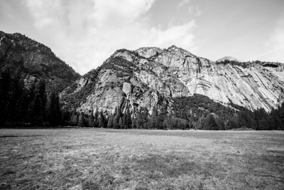 Indian Rock and Half Dome. Northside Drive - Yosemite National Park