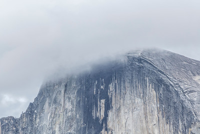 Half Dome. Sentinel Bridge - Yosemite National Park