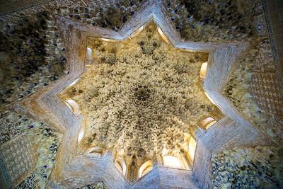 Overhead at the Alhambra, Granada, Spain