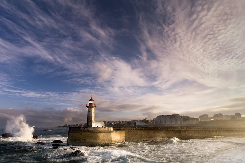 Lighthouse Lady of the Light, Porto, Portugal