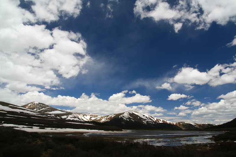 Spring Skies Beneath Guanella Pass