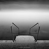 10.2014 - B&W -  Stairs to Water