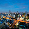 Bangkok view from Rhythm Sathorn