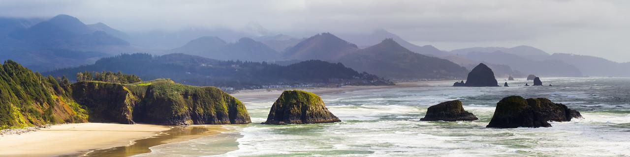 Crescent Beach Panorama